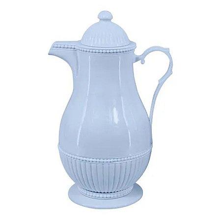 Garrafa Térmica de Plástico Vintage Azul  1l Lyor