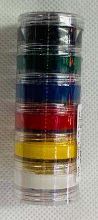 Tinta facial 6 cores