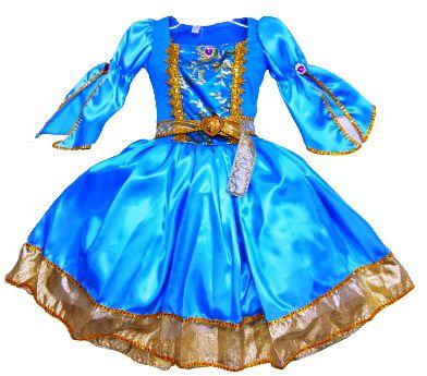 Vestido Princesa Carla Infantil