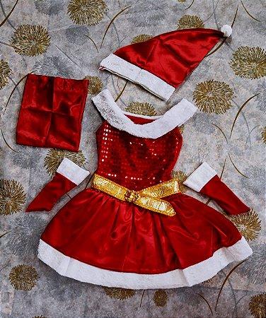 Vestido Infantil Noelete