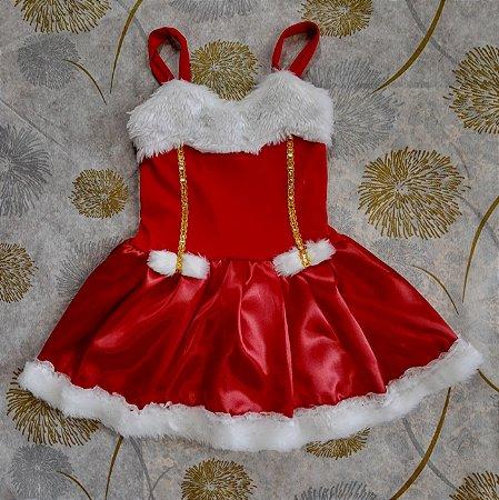 Vestido Infantil Noelzinha