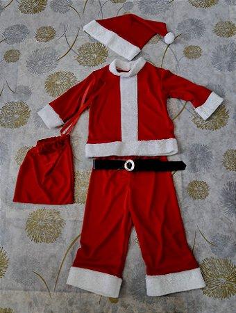 Roupa Papai Noel Infantil