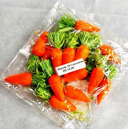 Cenoura de enfeite mini