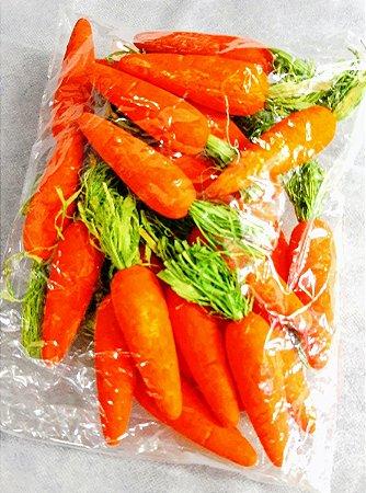 Cenoura para decoração média