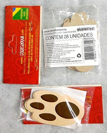 Patinhas de coelhos não adesivas