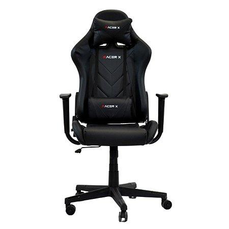 Cadeira Gamer Racer X Reclinável Preta