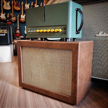 Amplificador Gato Preto Toro + Gabinete 112