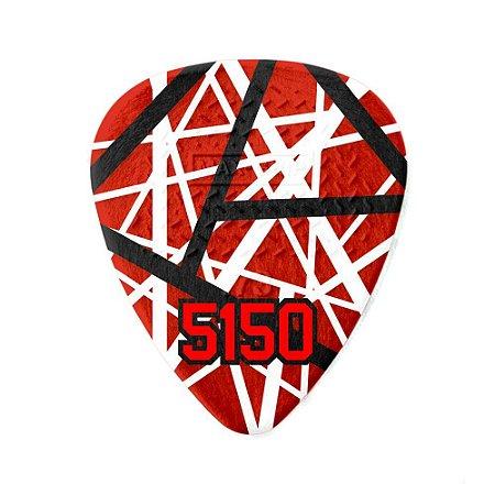 Palheta Dunlop Eddie Van Halen EVH 5150 Pack com 6