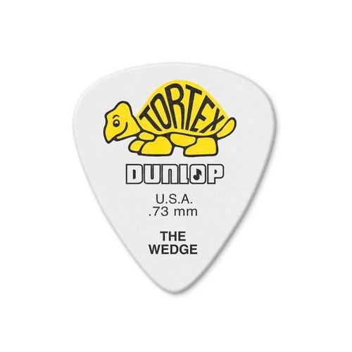 Palheta Dunlop Tortex The Wedge 73MM Pack com 12