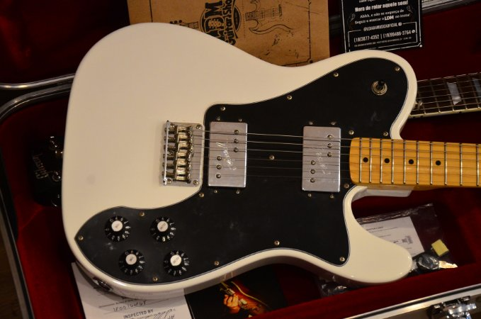 Guitarra Squier Telecaster Deluxe Vintage Modified