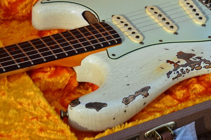 Guitarra Fender Stratocaster ´62 Heavy Relic LTD NAMM 2018