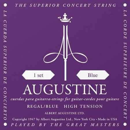 Encordoamento Augustine Regal Blue Tensão Alta