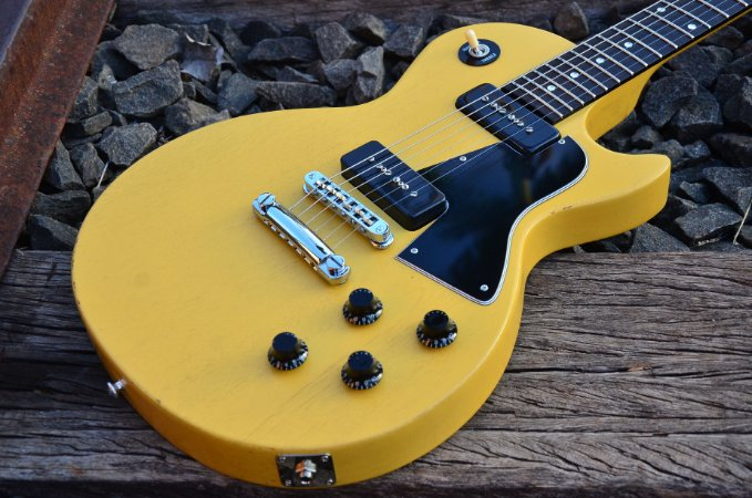 Gibson Les Paul Special TV Yellow 2009