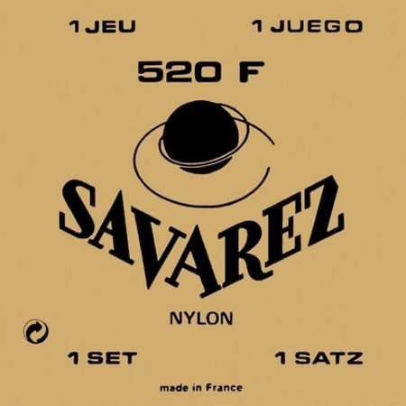 Encordoamento Savarez 520 F Tensão Alta