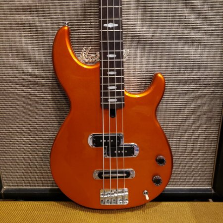 Baixo Yamaha BB414 Tangerine