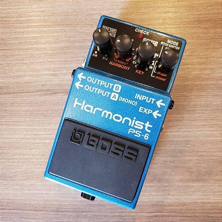 Pedal BOSS Harmonist PS-6