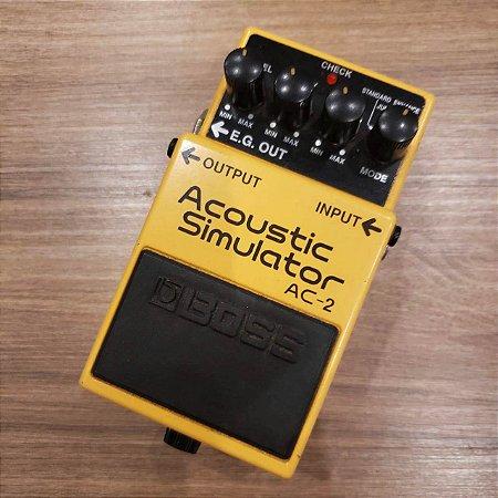 Pedal BOSS Acoustic Simulator AC-2