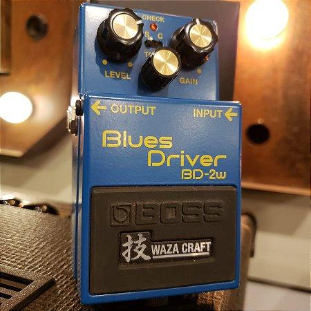 Pedal BOSS Blues Driver Waza Craft BD-2W (Semi-novo)
