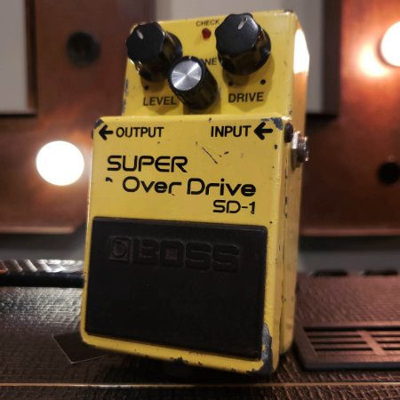 Pedal BOSS SD-1 Made in Japan