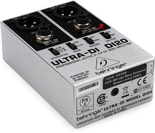 Direct Box Behringer Ultra-DI DI20