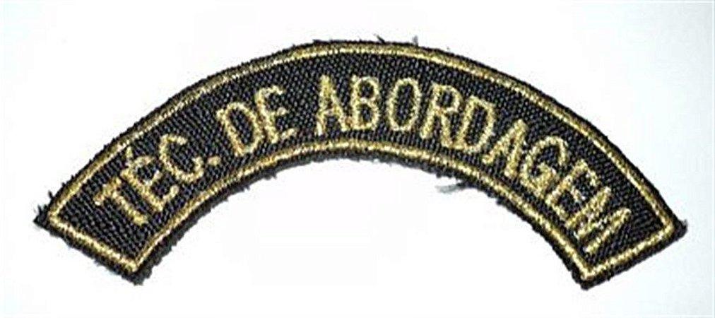 Listel bordado TÉC. DE ABORDAGEM