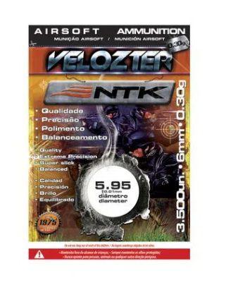 Munição NTK Tático para airsoft BBs de alta qualidade e precisão 0,30 gramas Velozter