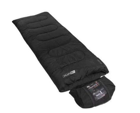 Saco de dormir NTK Tático de temperaturas 5°C a 15°C com capuz que se transforma em bolsa compactadora Vezper