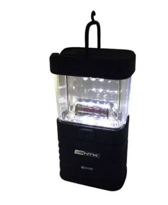 Mini lampião NTK com iluminação em 360°, compacto e em material resistente de 20 lúmens TALINO