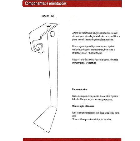 Suporte De Fixação De Traqueia Para CPAP -Suporte De Cama