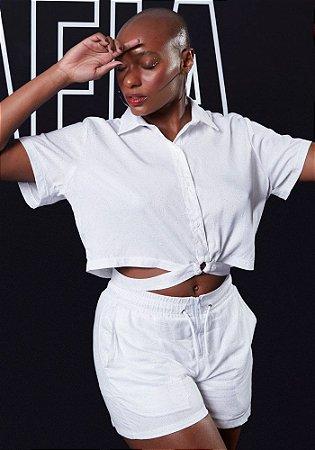 Blusa Labellamafia White and Silver - 21357