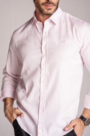 Camisa Manga Longa Slim fio 80