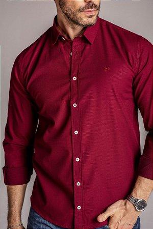 Camisa Manga Longa Slim Magnetado fio 80