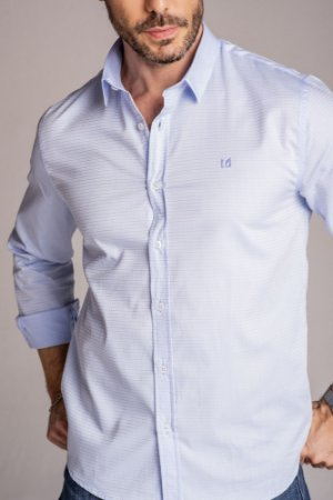 Camisa Manga Longa Slim magnetada