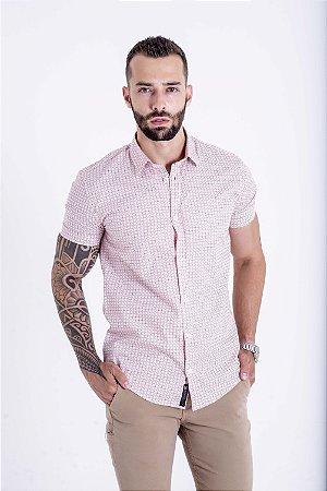 Camisa Manga Curta Slim