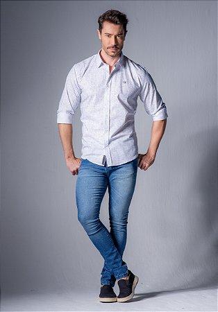Camisa de Algodão Slim