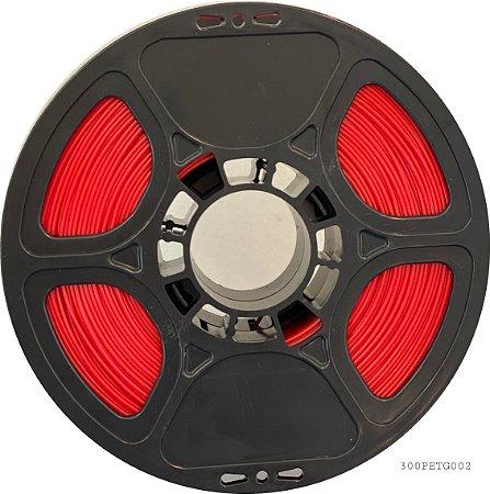 Filamento 300-02 - PETG vermelho