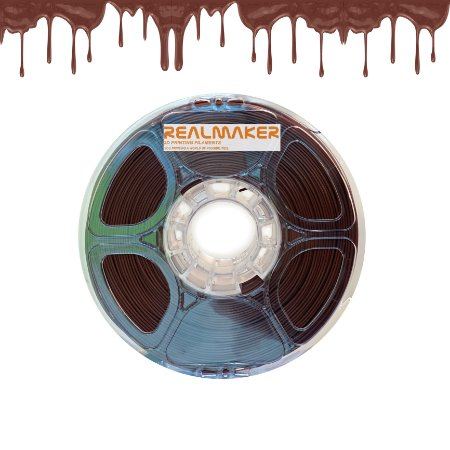 Filamento 210-09 - PLA SILK Marrom Chocolate