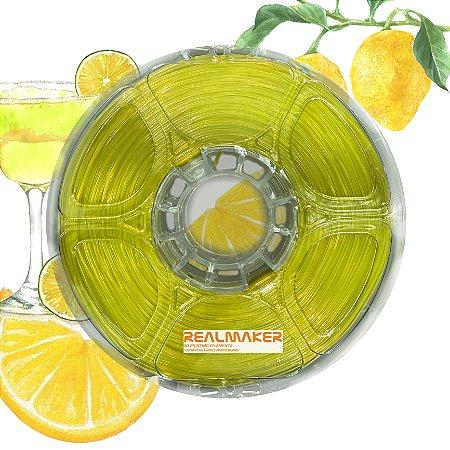 Filamento 010-10 - TPU Amarelo Neon