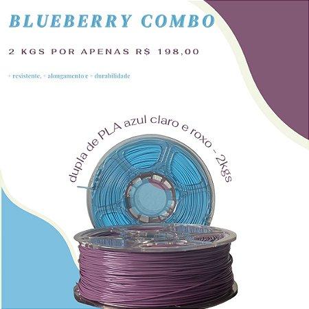 COMBO 2 KGS PLA - BLUEBERRY