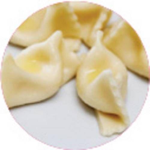 MASSAS - Agnoloti recheado com damasco, cream cheese e mussarela- 500g  - Congelado