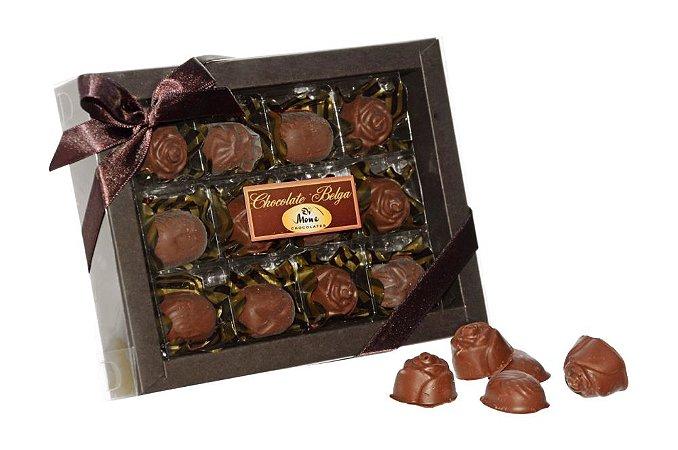 CHOCOLATE BELGA COM AMÊNDOAS 120G