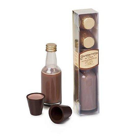 LICOR 50ML C/ 2 COPINHOS DE CHOCOLATE 55G