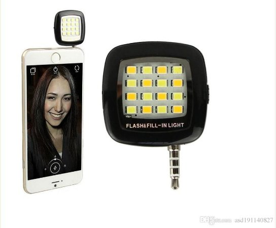 Mini Led Externo Fill Light Luz Continua Para Smartphone Celular Tablet Universal