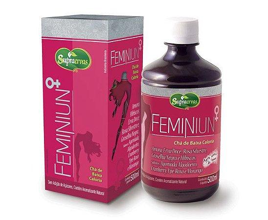 Feminiun - Chá  Composto De Ervas 500ml - Supra Ervas