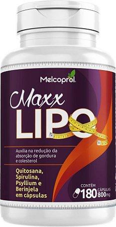 Maxx Lipo 800mg - 180 Cápsulas - Melcoprol