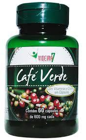 Café Verde 60 Capsulas 600mg