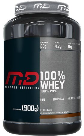100% WHEY 900 GR - MUSCLE DEFINITION