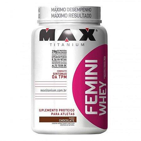 FEMINI WHEY 900 GRAMAS - MAX TITANIUM