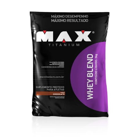 WHEY BLEND 2000G (REFIL) - MAX TITANIUM