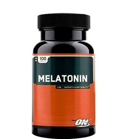 MELÄTONNINA ON 3 GRAMAS 100 CÁPSULAS - OPTIMUM NUTRITION